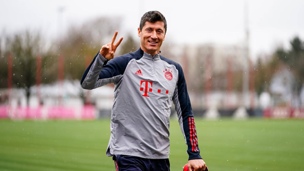 Robert Lewandowski fehlt dem FC Bayern momentan