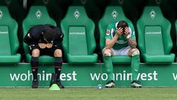 Werder Bremen ist aus der Bundesliga abgestiegen