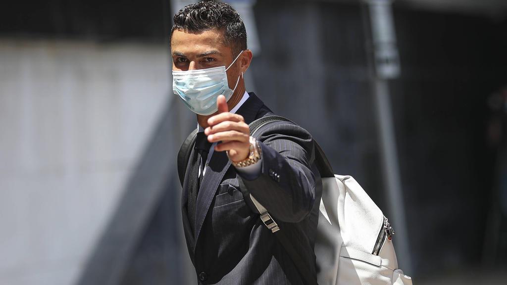 Cristiano Ronaldo spielt mit Portugal gegen das DFB-Team