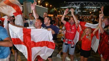 Ärger um englische Fußball-Fans in Rom