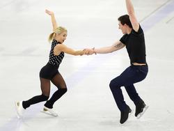 Aliona Savchenko und Bruno Massot