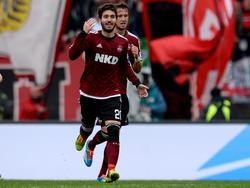 José Campaña traf gegen Eintracht Frankfurt