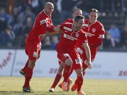 Der FC Thun in Feierlaune