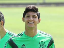 Alan Pulido con la selección mexicana. (Foto: ProShots)