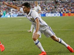 El hijo de Zidane jugó la International Champions Cup con el Madrid. (Foto: Getty)