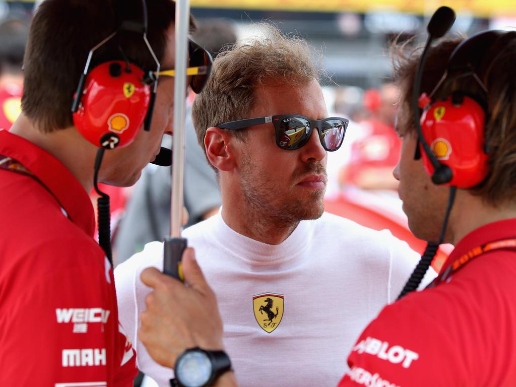 Die internationale Presse spottet über Sebastian Vettel
