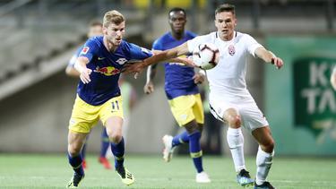 Für Timo Werner und RB Leipzig gab es in der Ukraine nur ein 0:0