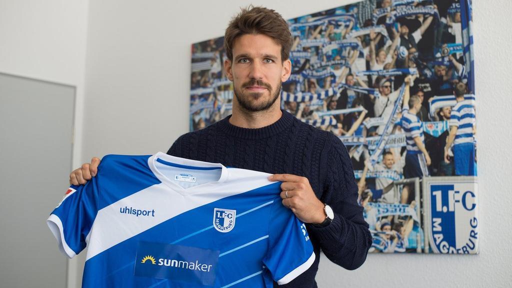 Romain Bregerie wird an den 1. FC Magdeburg ausgeliehen (Bildquelle: twitter.com/1_fcm)