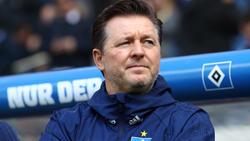 Christian Titz steht mit dem HSV gegen Darmstadt unter Druck