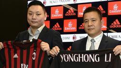 Li Yonghong (r.) droht Ärger in seiner Heimat