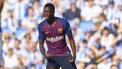 Ousmane Dembélé sorgte mal wieder für Ärger beim FC Barcelona