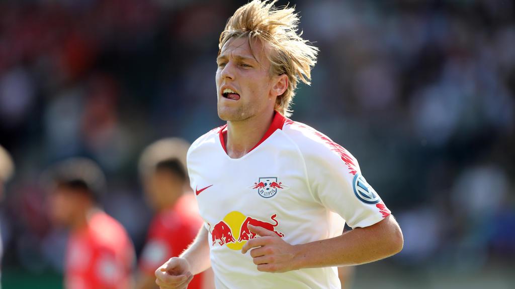 Emil Forsberg kann aktuell noch nicht am Teamtraining teilnehmen
