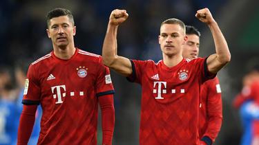 Der FC Bayern will auch am Ende dieser Saison wieder Meister werden