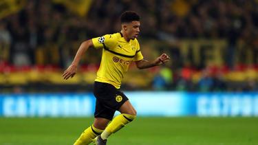Jadon Sancho hat beim BVB noch einen Vertrag bis 2022