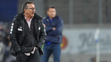 Norbert Meier ist nicht mehr Trainer beim KFC