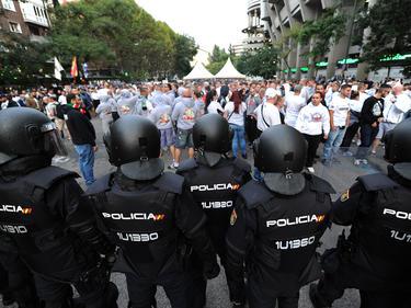 El despliegue policial en Madrid fue enorme para velar por la seguridad. (Foto: Getty)