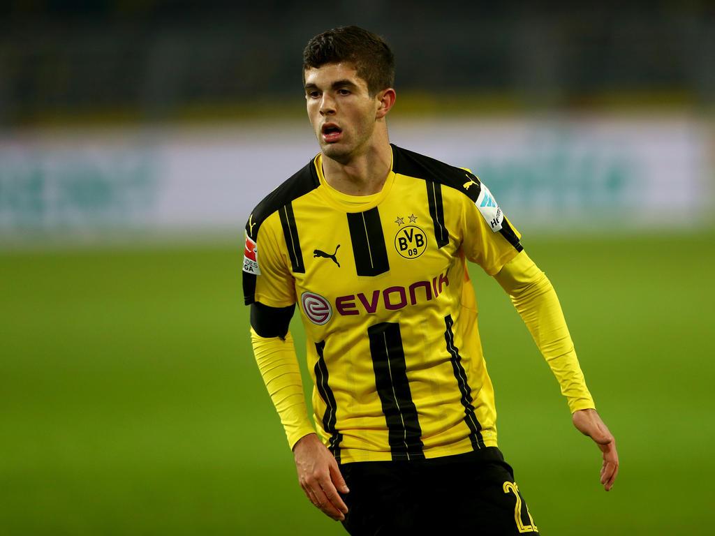 Christian Pulisic ist in Dortmund angekommen