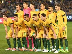 Die australische Nationalmannschaft...