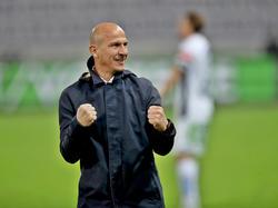 WAC-Trainer Gerhard Struber ist für das Rückspiel gegen Başakşehir optimistisch