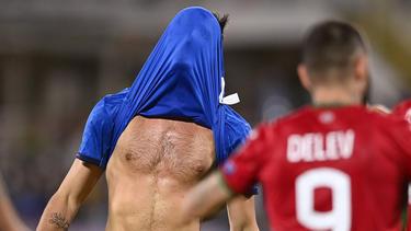 Italien verpasste einen Sieg gegen Bulgarien
