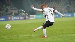 Timo Werner traf doppelt gegen Nordmazedonien