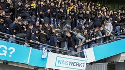 Der Spieltag in der Eredivisie wurde von einem Tribüneneinsturz überschattet