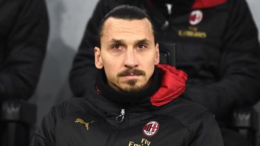 Zlatan Ibrahimovic soll den AC Mailand wieder in die Erfolgsspur schießen
