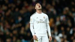 Luka Jovic ist mit seinen Leistungen bei Real Madrid unzufrieden