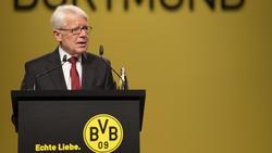 Reinhard Rauball hofft auf einen Neustart der Bundesliga im Mai