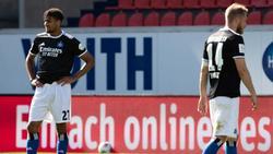 Frust pur beim Hamburger SV