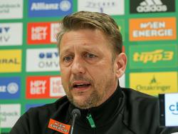 Zoran Barišić hatte alle Hände voll zu tun