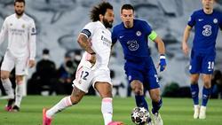 Marcelo (l.) darf für Real Madrid in der Champions League spielen
