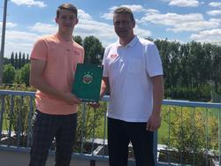 Pascal Fallmann bleibt beim SK Rapid Wien