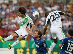 Wolfsburger Lufthoheit gegen den KSC