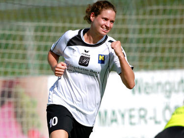Neulengbachs Stürmerin Nina Burger war im CL-Hinspiel bei Apollon Limassol gleich zwei Mal erfolgreich