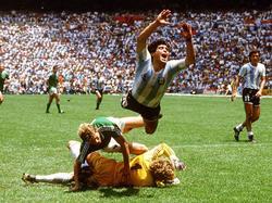 WM-Finale '86: Maradona hebt ab