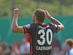 Luc Castaignos  brachte Frankfurt auf die Siegerstraße
