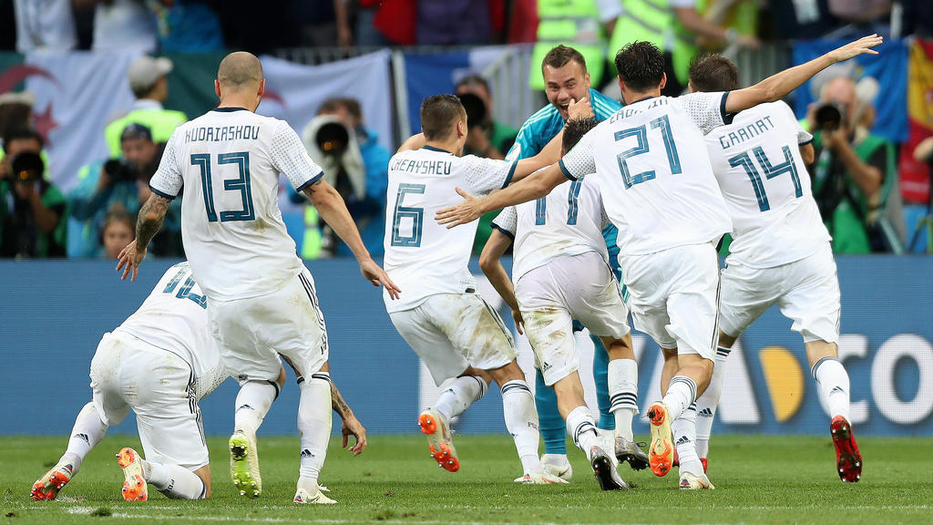 Russland arbeitet weiter an seinem Fußball-Märchen