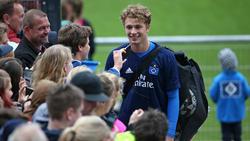 Jann-Fiete Arp steht vor seinem Debüt beim HSV