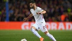 Maxime Gonalons en el partido contra el Barça del mes de abril. (Foto: Getty)
