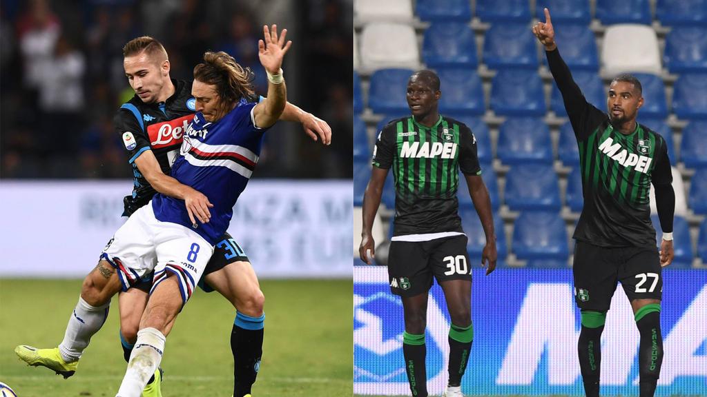 Frust beim SSC Neapel - Jubel bei Kevin-Prince Boateng und Sassuolo