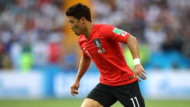 Hee-chan Hwang ist derzeit für die südkoreanische Nationalmannschaft im Einsatz