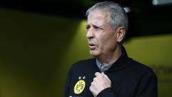 BVB-Coach Lucien Favre musste lange bangen