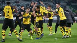 Bei den Dortmundern herrscht weiter Hochstimmung
