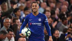 Der FC Cheslea will den Vertrag mit Eden Hazard unbedingt verlängern