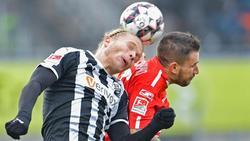 Jahn Regensburg erkämpft sich in letzter Minute einen Punkt