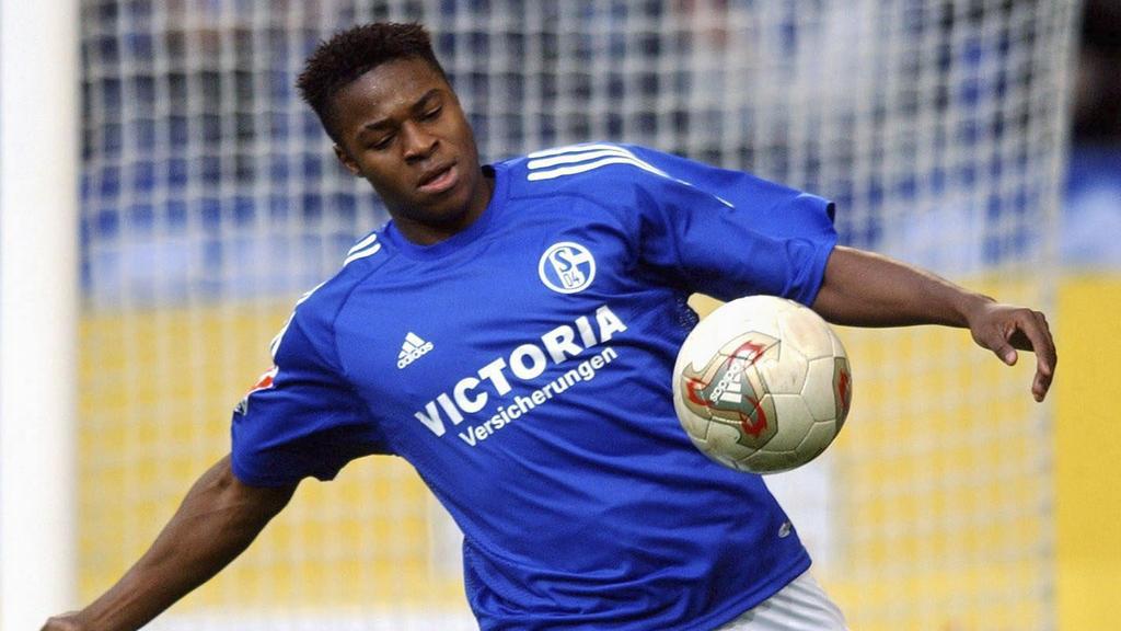Émile Mpenza kickte an der 2000er-Jahre für den FC Schalke.