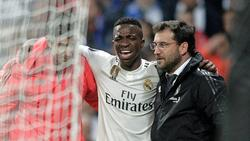 Vinicius Junior fällt bei Real Madrid mit einem Bänderriss aus