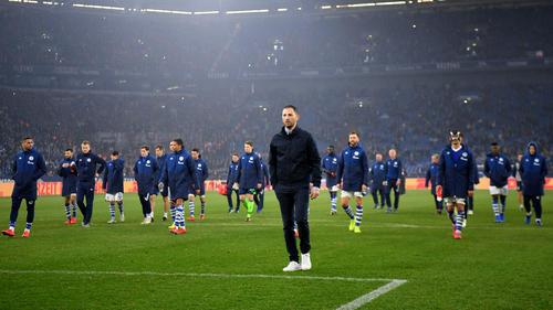 Domenico Tedesco will sich am Mittwoch vom FC Schalke 04 verabschieden