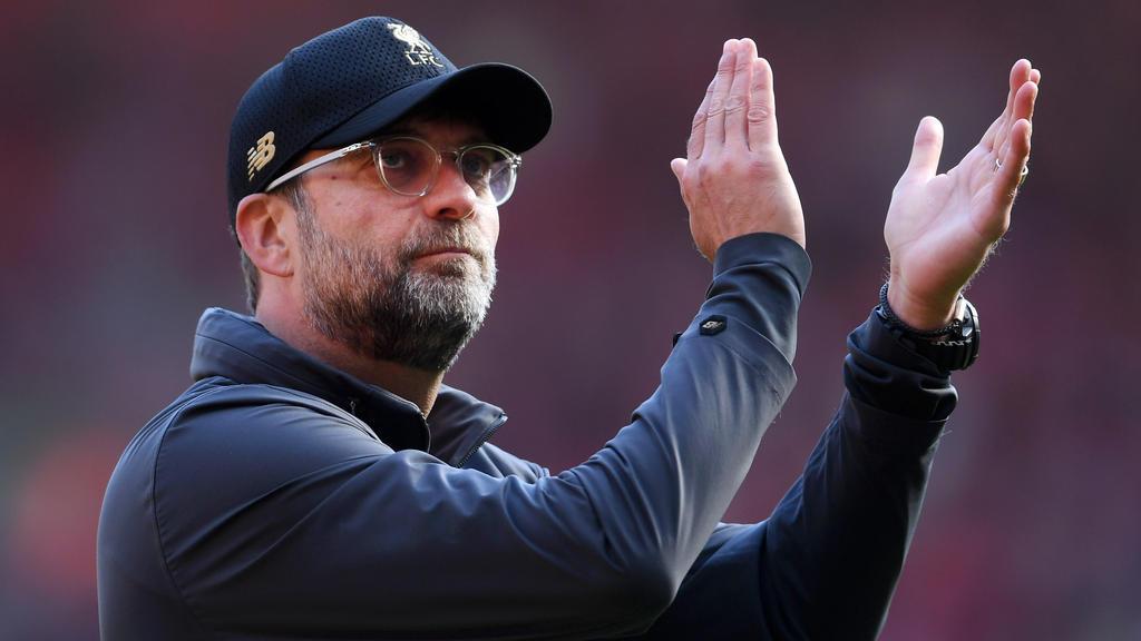Jürgen Klopp schwärmte von der Saison des FC Liverpool